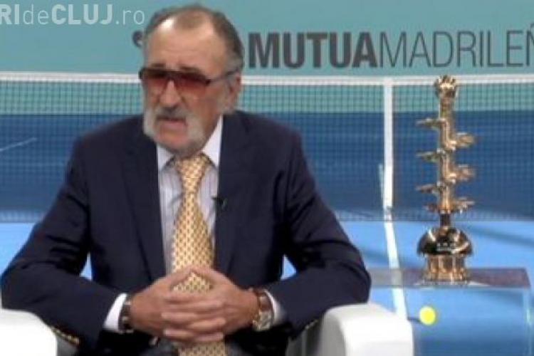 Ion Țiriac schimbă topul mondial al celor mai buni tenismeni