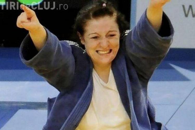 Judoka Corina Caprioriu va face angajarea la meciul U Mobitelco BT Cluj - BC Miercurea Ciuc
