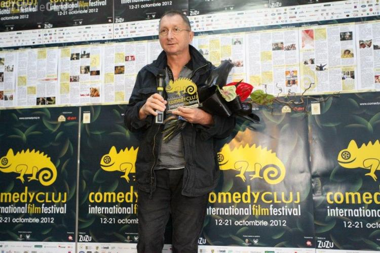 Horaţiu Mălăele, premiat la Comedy Cluj - FOTO