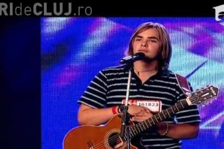 X FACTOR. Rockerul manelist din Cluj a mers mai departe - VIDEO