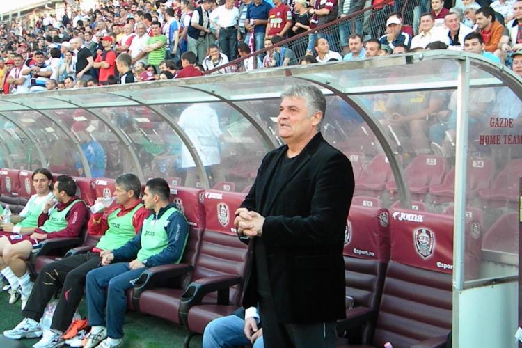 Andone e cu un picior în curtea Rapidului: Rămân la CFR Cluj numai dacă am susținere totală - VIDEO