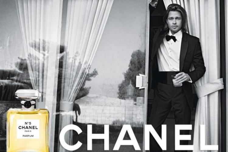 Brad Pitt, imaginea Chanel no. 5 - VIDEO