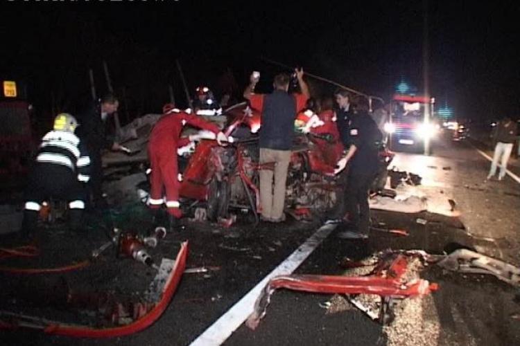 Accident la Cașeiu. Numărul morților a ajuns la 3. A decedat încă un pasager din Seat