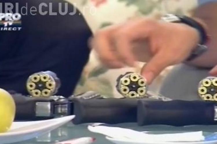 Cristian Gog a făcut Ruleta Rusească. Mentalistul a sfidat moartea - VEZI VIDEO