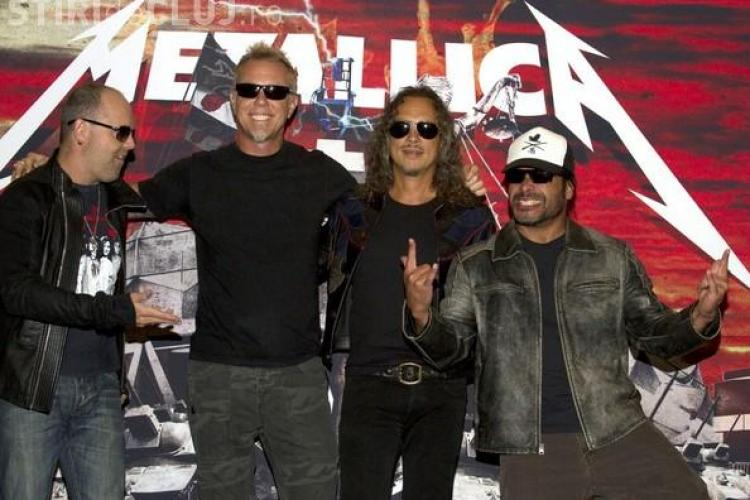 Concert Metallica pe Cluj Arena în 2013 - VIDEO