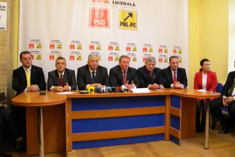 USL Cluj și-a prezentat candidații la alegerile parlamentare din 9 decembrie - FOTO