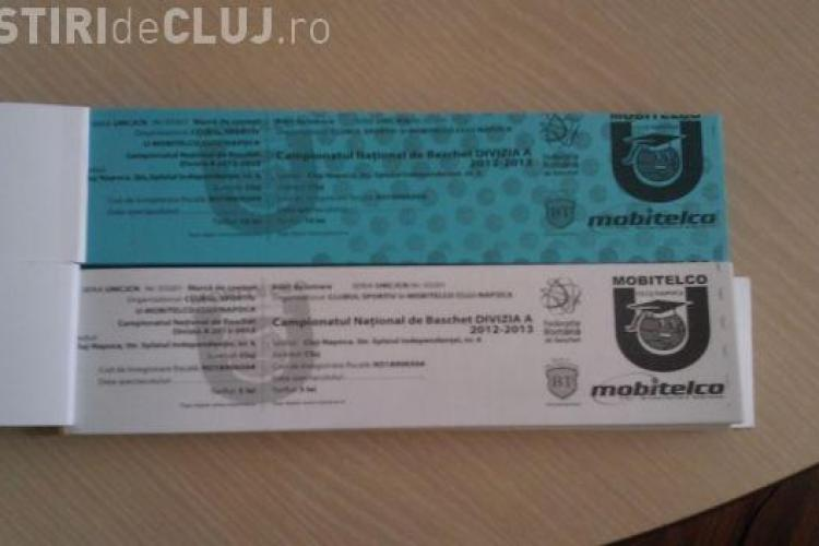 Bilete pentru meciul U Mobitelco - BC Miercurea Ciuc