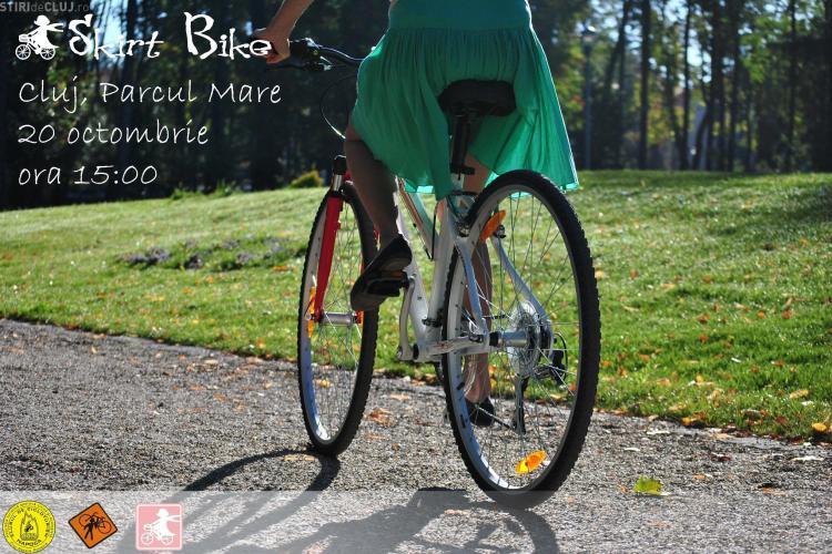 Prima editie Skirt Bike Cluj are loc sâmbătă, de la 15.00, în Parcul Central
