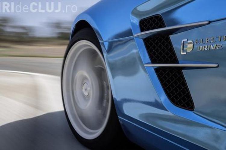 Mercedes lansează mașina electrică de 740 CAI PUTERE FOTO-VIDEO