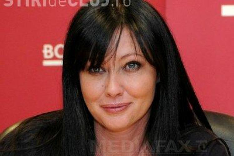 "Shannen Doherty, Brenda din ""Beverly Hills 90210"", de nerecunoscut - FOTO"