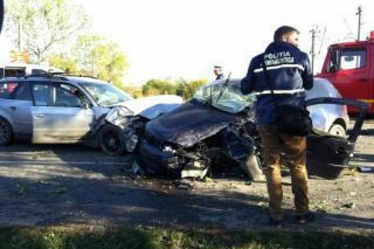 Accident in Jucu, pe DN 1C. O persoana a fost ranita, iar traficul blocat mai bine de o ora!