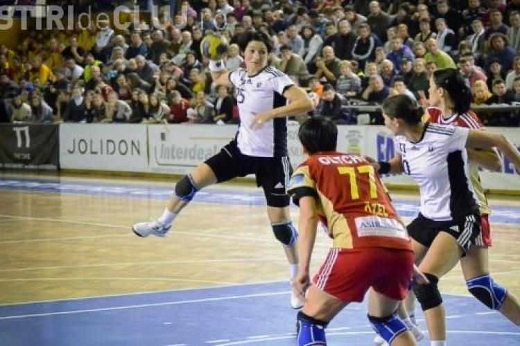 U Jolidon Cluj - Podravka Koprivnica, scor 19-20. Clujencele au pierdut al treilea meci în Liga Campionilor