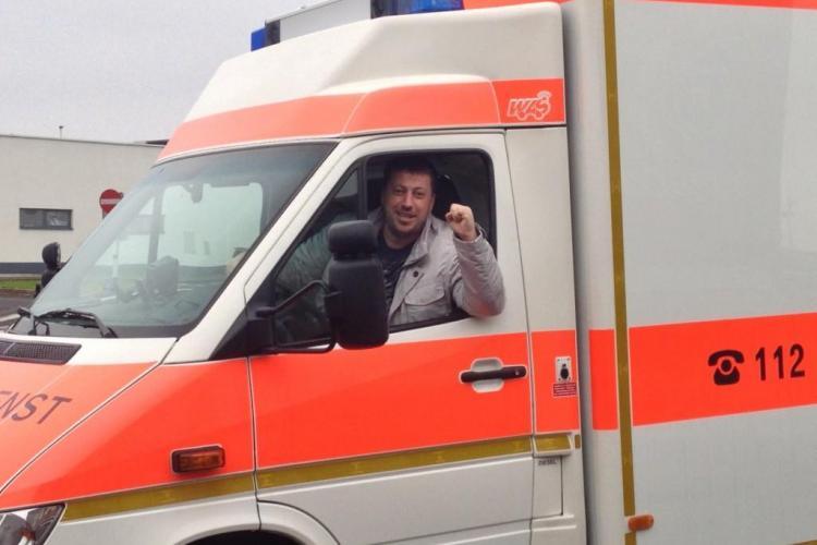 Liviu Alexa a cumpărat o ambulanță unicat în Cluj! VEZI cum arată - FOTO