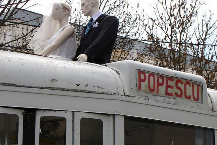 Comedy Cluj aduce un spectacol de teatru jucat într-un tramvai