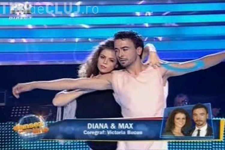 """Diana Pop, clujeanca de la """"Dansez pentru tine"""". VEZI cum a dansat frumoasa tânără - VIDEO"""