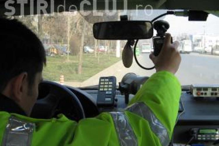 Cluj: Unde sunt amplasate aparatele radar miercuri, 17 octombrie