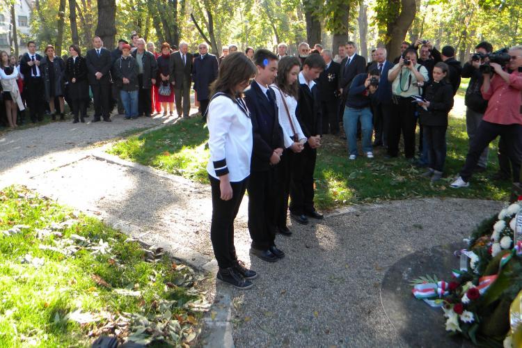 Ungurii au comemorat la Cluj Revoluţia Maghiară - FOTO și VIDEO
