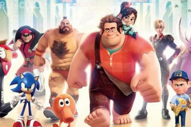 """""""Ralph Strică-Tot"""", animaţia cu încasări RECORD în America"""