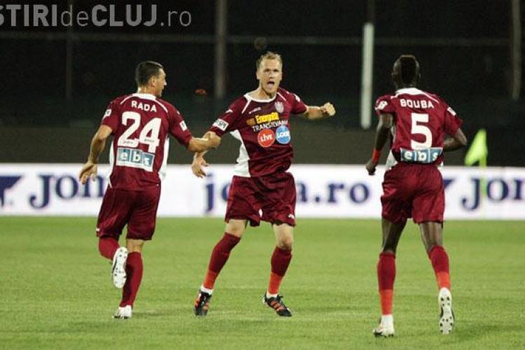 CFR Cluj - FC Braşov 5-0 REZUMAT VIDEO / Clujenii au înscris o căruță de goluri
