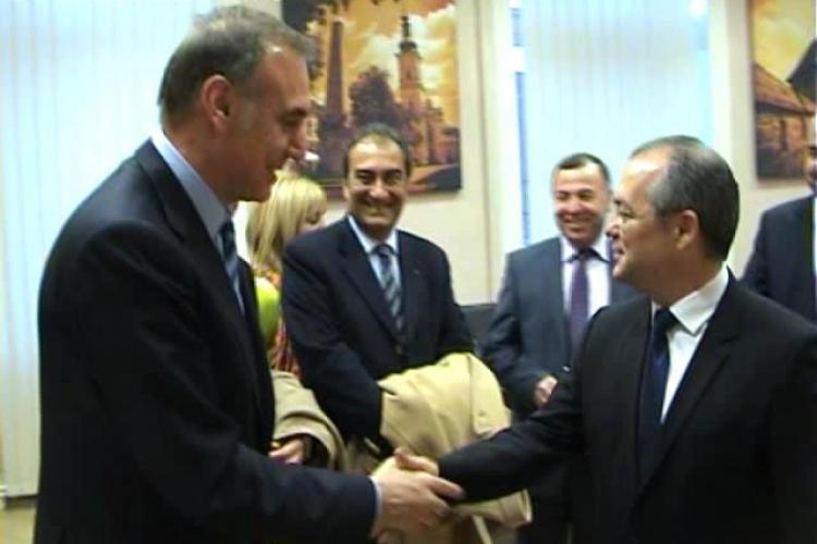 Boc s-a întâlnit cu boss -ul Galatei - FOTO și VIDEO