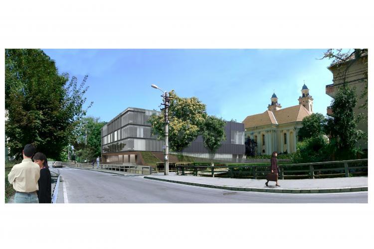 Cum va arăta noul sediu al Inspectoratului Școlar Județean Cluj, de pe strada Argeș? - FOTO si VIDEO