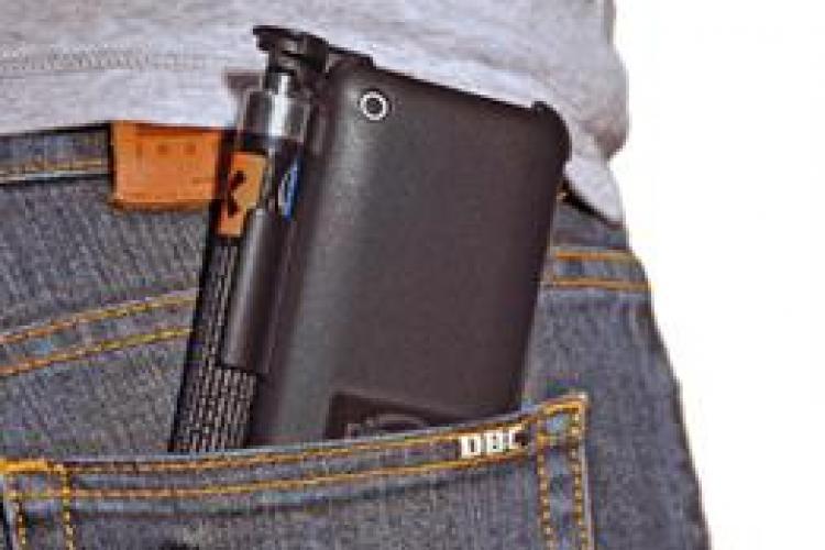 Gadgetul împotriva hoților: Telefonul cu SPRAY PARALIZANT