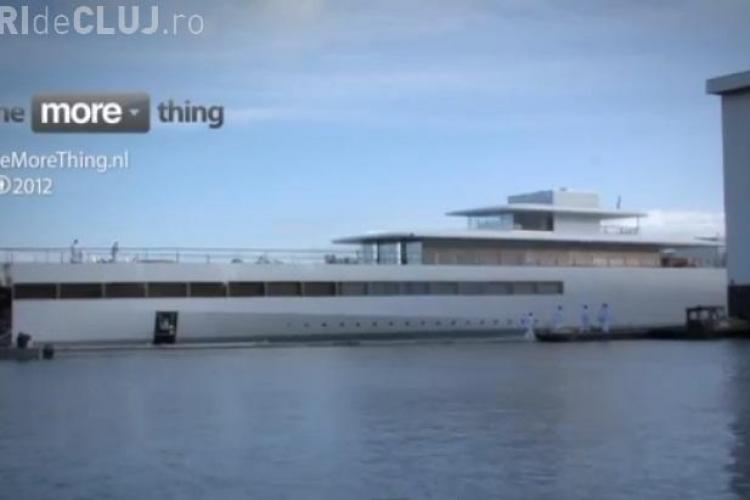 Cum arată iahtul de care Steve Jobs n-a mai apucat să se bucure - VIDEO