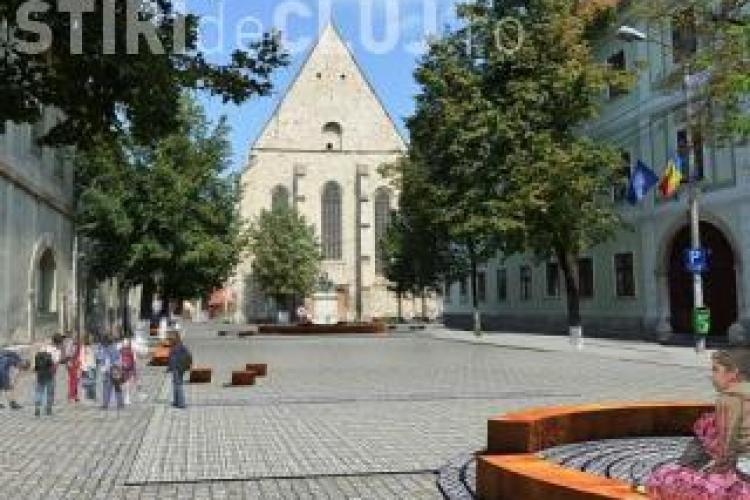 400 de clujeni se opun construirii parkingului subteran de pe strada Kogălniceanu
