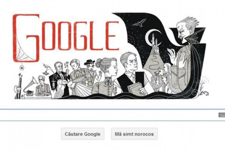 BRAM STOKER, părintele lui Dracula, sărbătorit de google