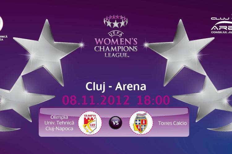 Olimpia Cluj – cea mai mare performanţă din istoria fotbalului feminin