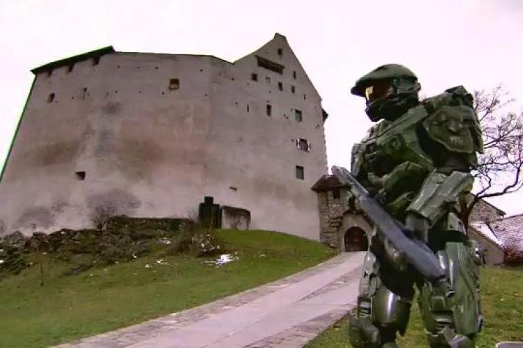Microsoft a închiriat o ţară pentru a lansa jocul Halo 4 - VIDEO