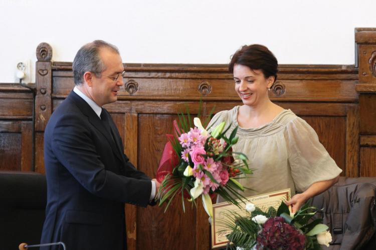 Simona Noja, ambasador al Clujului pentru Capitala Culturală - FOTO