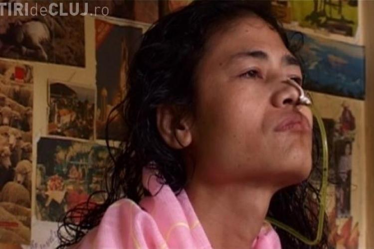 O femeie din India este în greva foamei de 12 ani