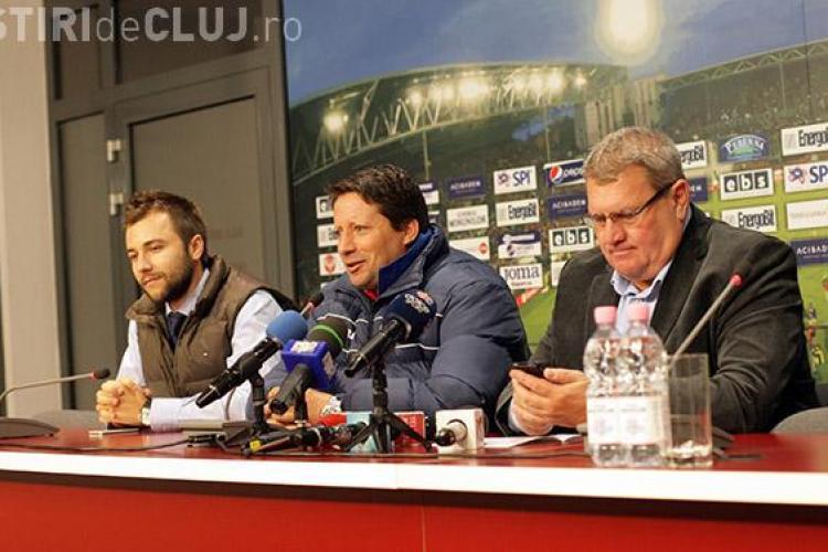 Sergio Paulo a fost prezentat oficial la CFR Cluj - FOTO