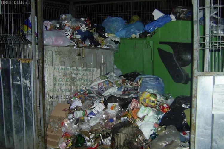 Clujenii riscă să rămână cu GUNOIUL pe stradă, din cauza campaniei electorale. Garda de Mediu Cluj răspunde comenzilor? - VIDEO
