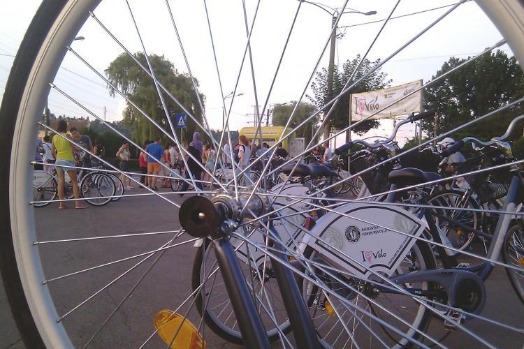 Au fost finalizate primele stații de închiriat biciclete din Cluj-Napoca