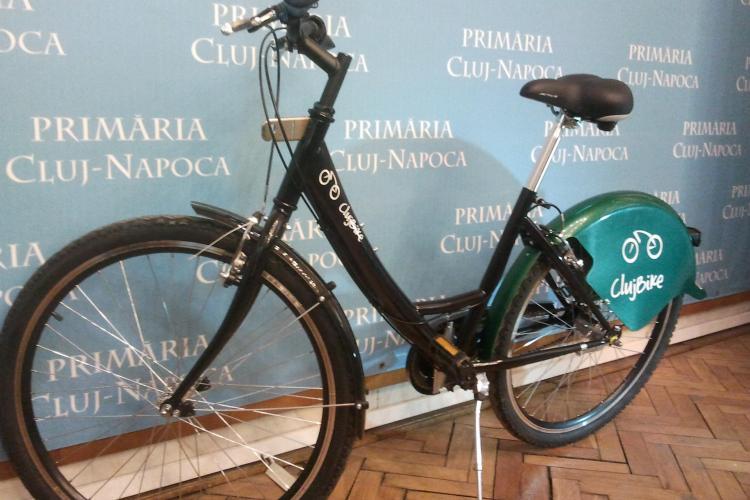 Cum arată bicicleta care va putea fi folosită gratuit în Cluj-Napoca. În total vor fi cumpărate 500 de biciclete - FOTO