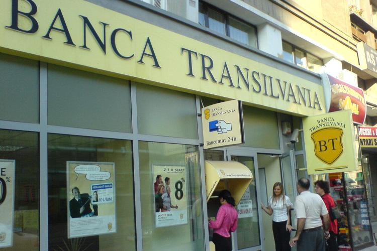 Banca Transilvania, profit net cu 30% mai mare în primele 9 luni ale anului 2012