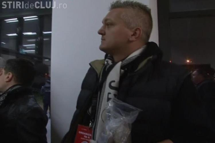 Papi explică ce face cu punga de bani adunată de fanii de la U Cluj - VIDEO