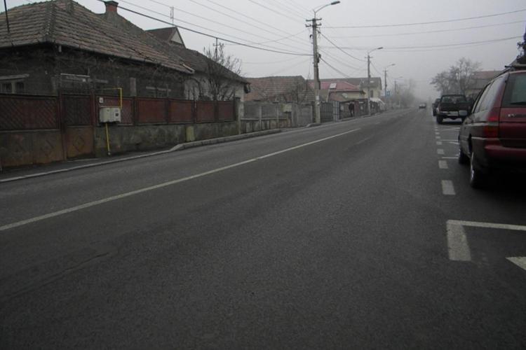 Strada Oașului a fost asfaltată în întregime - FOTO - VIDEO