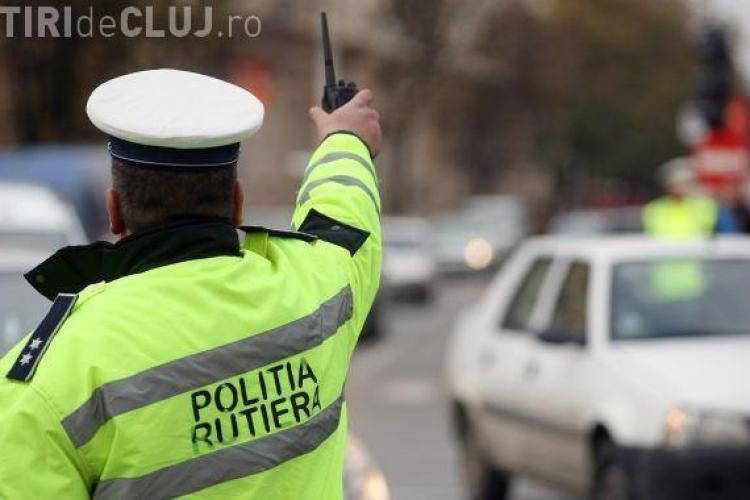 """Polițiștii """"i-au rupt"""" pe șoferii clujeni cu amenzi"""