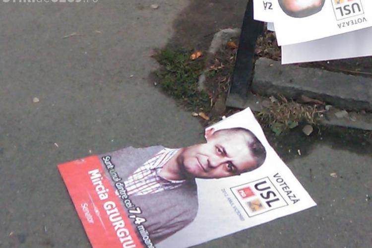Mircia Giurgiu călcat în picioare pe strada Moţilor din Cluj-FOTO