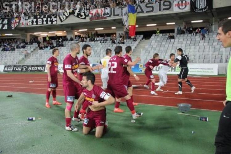 U Cluj - CFR Cluj! Ce RIVAL de moarte al U Cluj nu joacă în derby -ul de sâmbătă - VIDEO