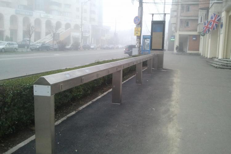 CLUJ BIKE prinde contur! Cum arată stațiile de unde vor putea fi închiriate gratuit biciclete la Cluj-Napoca - FOTO