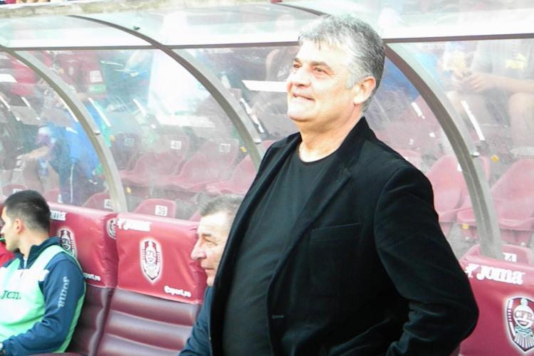 Andone susține că a fost sabotat de Iuliu Mureșan și forțat să plece de la CFR Cluj