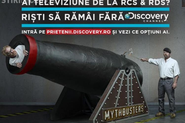 Mesajul Discovery pentru abonaţii. RCS&RDS i-a scos din grilă