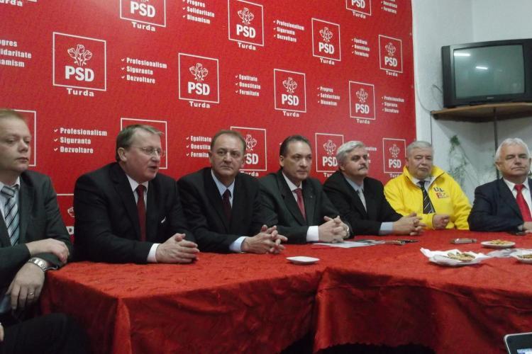 Alexandru Cordoș și Vasile Grumaz, soluțiile USL pentru revigorarea Municipiului Turda