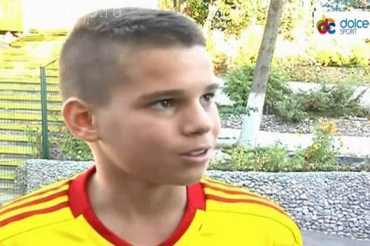 Gol de poveste marcat de Ianis Hagi în meciul România - Turcia 4-3 - VIDEO