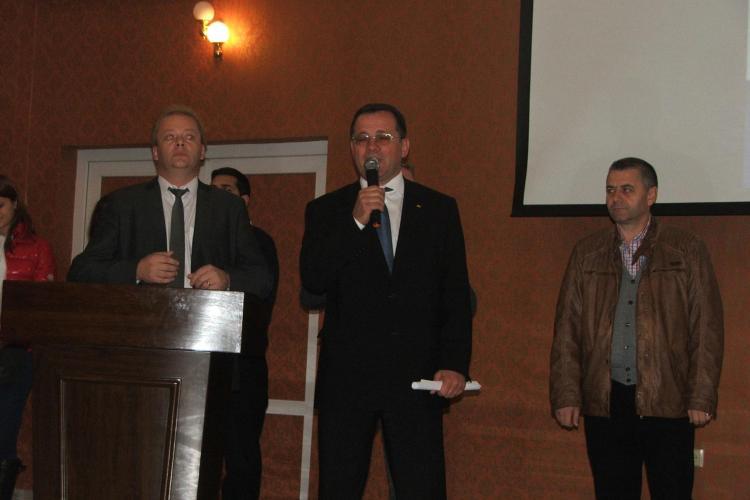 Lansarea candidaților USL, Mircia Giurgiu, în Colegiul 1 - Senat și Adrian Oros, în Colegiul 1 - Camera Deputaților
