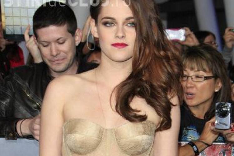 """Cum a arătat Kristen Stewart la premiera ultimului film """"Twilight"""" - FOTO și VIDEO"""